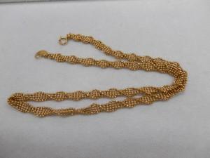 凝ったデザインのネックレスを買取させていただきました☆ザ・ゴールドいわき平店(福島県いわき市平) 福島県いわき市にあるザ・ゴールド いわき平店の画像3