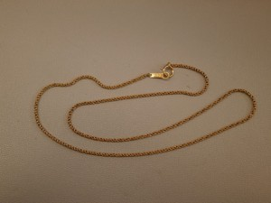 18金のネックレスを買取させていただきました。ザ・ゴールド須賀川インター店(福島県須賀川市) 福島県須賀川市にあるザ・ゴールド 須賀川インター店の画像2