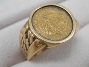 18金メダル付きリングを買取りさせていただきました。☆ザ・ゴールドいわき平店(福島県いわき市平) 福島県いわき市にあるザ・ゴールド いわき平店の画像2