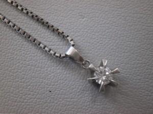 ダイヤモンド付きネックレス買取させていただきました☆THE GOLD新潟西店(新潟県新潟市西区) 新潟県新潟市にあるザ・ゴールド 新潟西店の画像2