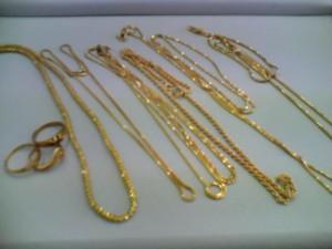 18金ネックレスとリングを買取いたしました!ザ・ゴールド長岡店(新潟県長岡市) 新潟県長岡市にあるザ・ゴールド 長岡店の画像2