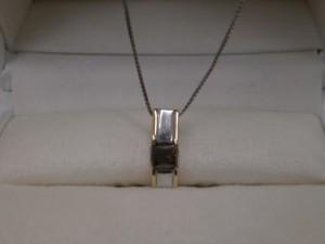 ダイヤモンド付き18金ホワイトゴールドネックレス買取させていただきました ザ・ゴールド会津若松店(福島県会津若松市) 福島県会津若松市にあるザ・ゴールド 会津若松店の画像2