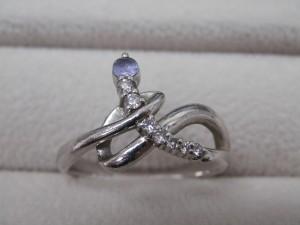 淡いブルーの石のついたプラチナの指輪を買取させていただきました☆ザ・ゴールドいわき平店(福島県いわき市平) 福島県いわき市にあるザ・ゴールド いわき平店の画像4