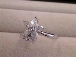 ダイヤモンドデザインリング買い取りさせて頂きました。ザ・ゴールド利府店(宮城郡利府町) 宮城県宮城郡にあるザ・ゴールド 利府店の画像2
