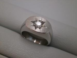 プラチナ900ダイヤモンド付リング買取させて頂きました ザ・ゴールド仙台中田店(仙台市太白区) 宮城県仙台市にあるザ・ゴールド 仙台中田店の画像2