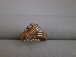 14金のダイヤ付きリングを買い取りさせていただきました。ザ・ゴールド仙台中田店 仙台市太白区 宮城県仙台市にあるザ・ゴールド 仙台中田店の画像2