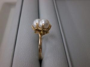 18金パール付リング 富谷町のお客さまから買取させていただきました。貴金属・ダイヤモンド付製品、ブランドバック・ブランド腕時計買取専門店 ザ・ゴールド泉インター店(宮城県仙台市泉区) 宮城県仙台市にあるザ・ゴールド 泉インター店の画像4