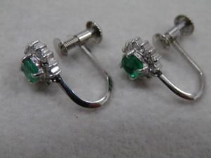 0.07ctのメレダイヤがついたイヤリングを買取させていただきました☆ザ・ゴールドいわき平店(福島県いわき市平) 福島県いわき市にあるザ・ゴールド いわき平店の画像4