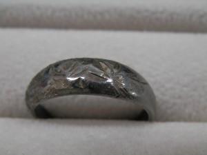 純銀の指輪を買取させていただきました☆ザ・ゴールドいわき平店(福島県いわき市平) 福島県いわき市にあるザ・ゴールド いわき平店の画像4