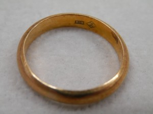 18金のシンプルな指輪を買取させていただきました☆ザ・ゴールドいわき平店(福島県いわき市平) 福島県いわき市にあるザ・ゴールド いわき平店の画像4