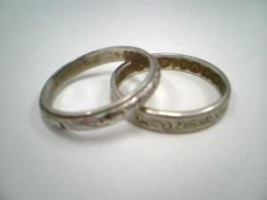 お揃いの指輪を買取させていただきました    ザ・ゴールド会津若松店 福島県会津若松市にあるザ・ゴールド 会津若松店の画像2