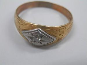 メレダイヤ入りのコンビの指輪を買取させていただきました☆ザ・ゴールドいわき平店(福島県いわき市平) 福島県いわき市にあるザ・ゴールド いわき平店の画像4