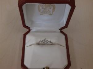 Cartier ヒンドゥリング 富谷町のお客さまから買取させていただきました。貴金属・ダイヤモンド付製品、ブランドバック・ブランド腕時計買取専門店 ザ・ゴールド泉インター店(宮城県仙台市泉区) 宮城県仙台市にあるザ・ゴールド 泉インター店の画像2