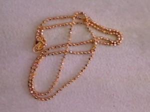 『18金ネックレス』買取させて頂きました。ザ・ゴールド利府店(宮城郡利府町、東北本線「利府」駅) 宮城県宮城郡にあるザ・ゴールド 利府店の画像2