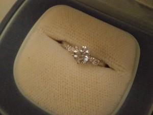 0.501カラット プラチナ900ダイヤモンドリングを買取させていただきました。ザ・ゴールド須賀川インター店(福島県須賀川市) 福島県須賀川市にあるザ・ゴールド 須賀川インター店の画像2