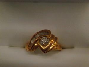 18金 ダイヤモンド付きリング?買取させていただきました。 ザ・ゴールド須賀川インター店(福島県須賀川市) 福島県須賀川市にあるザ・ゴールド 須賀川インター店の画像2