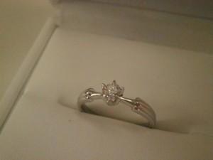 0.3カラット プラチナ900ダイヤモンドリングを買取させていただきました。ザ・ゴールド須賀川インター店(福島県須賀川市) 福島県須賀川市にあるザ・ゴールド 須賀川インター店の画像2