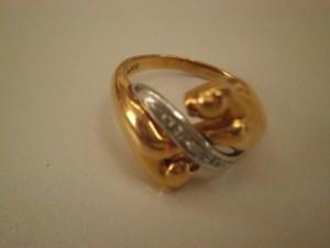 0.02カラット 18金・プラチナ900コンビ ダイヤモンドリングを買取させていただきました。ザ・ゴールド須賀川インター店(福島県須賀川市) 福島県須賀川市にあるザ・ゴールド 須賀川インター店の画像2