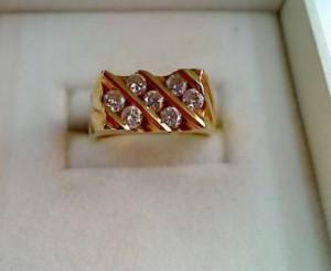 18金ダイヤリング買い取りさせていただきました。ザ・ゴールド柴田店(宮城県柴田郡) 宮城県柴田郡にあるザ・ゴールド 柴田店の画像2