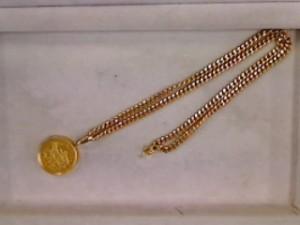 1/2オンスコイン付きネックレス買い取りさせていただきました ザ・ゴールド利府店(宮城郡 利府町) 宮城県宮城郡にあるザ・ゴールド 利府店の画像4