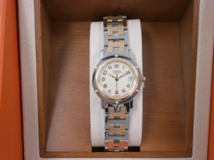 エルメス・クリッパー時計を買取りさせていただきました?ザ・ゴールド福島店(福島県福島市鳥谷野) 福島県福島市にあるザ・ゴールド 福島店の画像3