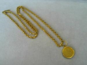22金ネックレスを買取いたしました!ザ・ゴールド長岡店(新潟県長岡市) 新潟県長岡市にあるザ・ゴールド 長岡店の画像2