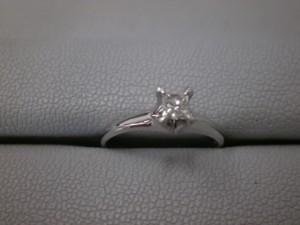 ☆プラチナ900ダイヤリングを買取させていただきました☆ザ・ゴールド福島店(福島県福島市鳥谷野) 福島県福島市にあるザ・ゴールド 福島店の画像2