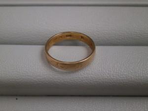 18金のリングを買取させていただきました。ザ・ゴールド仙台中田店 仙台市太白区 宮城県仙台市にあるザ・ゴールド 仙台中田店の画像2