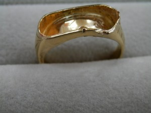 刻印のない金の指輪を買取させていただきました☆ザ・ゴールドいわき平店(福島県いわき市平) 福島県いわき市にあるザ・ゴールド いわき平店の画像4