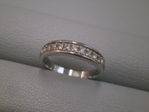 プラチナ製ダイヤモンドリング買取させて頂きました ザ・ゴールド仙台中田店(仙台市太白区) 宮城県仙台市にあるザ・ゴールド 仙台中田店の画像2