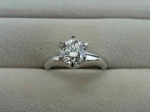 プラチナ900のダイヤリングを買取いたしました!ザ・ゴールド長岡店(新潟県長岡市) 新潟県長岡市にあるザ・ゴールド 長岡店の画像2