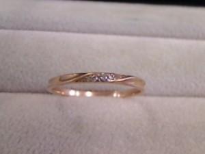 『18金リング☆メレダイヤモンド』買取させて頂きました。ザ・ゴールド利府店(宮城郡利府町、東北本線「利府」) 宮城県宮城郡にあるザ・ゴールド 利府店の画像2