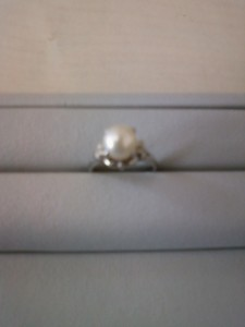プラチナ900真珠リング買取させていただきました!    ザ・ゴールド長岡店(新潟県長岡市) 新潟県長岡市にあるザ・ゴールド 長岡店の画像2