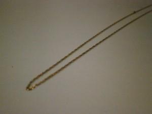 18金ネックレス 買取させていただきました。ザ・ゴールド須賀川インター店(福島県須賀川市) 福島県須賀川市にあるザ・ゴールド 須賀川インター店の画像2