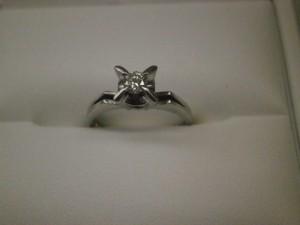 0.2ctダイヤリング 買取させていただきました。ザ・ゴールド須賀川インター店(福島県須賀川市) 福島県須賀川市にあるザ・ゴールド 須賀川インター店の画像2