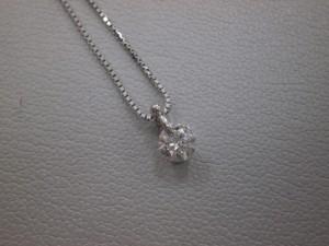 ダイヤモンドネックレス買取させていただきました☆THE GOLD新潟西店(新潟県新潟市西区) 新潟県新潟市にあるザ・ゴールド 新潟西店の画像2
