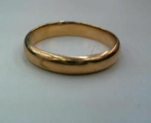 18金のシンプルな指輪を買取させていただきました。ザ・ゴールド 柴田店 宮城県柴田郡 柴田町 宮城県柴田郡にあるザ・ゴールド 柴田店の画像2