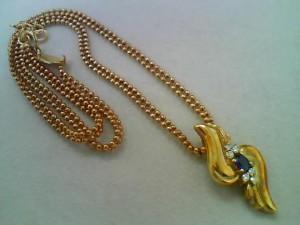 18金石付きネックレスを買取させていただきました!ザ・ゴールド長岡店(新潟県長岡市) 新潟県長岡市にあるザ・ゴールド 長岡店の画像2