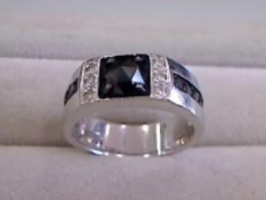 18金ブラックダイヤ付きリング買い取りさせて頂きました。 ザ・ゴールド利府店(宮城郡利府町) 宮城県宮城郡にあるザ・ゴールド 利府店の画像2