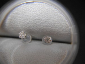 プラチナ900ダイヤモンドピアス買取させて頂きました ザ・ゴールド仙台中田店(仙台市太白区) 宮城県仙台市にあるザ・ゴールド 仙台中田店の画像3