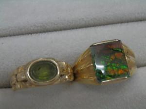 緑の石のついた指輪を買取させていただきました☆ザ・ゴールドいわき平店(福島県いわき市平) 福島県いわき市にあるザ・ゴールド いわき平店の画像4
