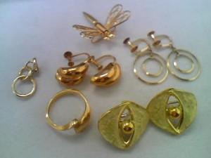 18金のリングとイヤリングを買取いたしました!ザ・ゴールド長岡店(新潟県長岡市) 新潟県長岡市にあるザ・ゴールド 長岡店の画像2