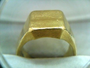 純金の指輪を買い取りさせていただきました!ザ・ゴールド高岡店(富山県高岡市) 富山県高岡市にあるザ・ゴールド 高岡店の画像2