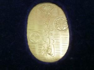 純金(24金)製小判買取させて頂きました ザ・ゴールド仙台中田店(仙台市太白区) 宮城県仙台市にあるザ・ゴールド 仙台中田店の画像2