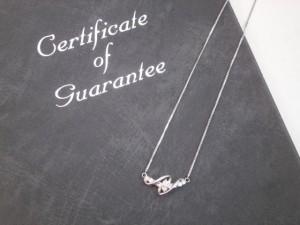 プラチナ製ダイヤモンドネックレス買取させて頂きました ザ・ゴールド仙台中田店(仙台市太白区) 宮城県仙台市にあるザ・ゴールド 仙台中田店の画像2