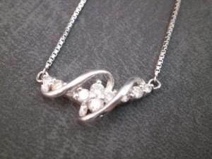 プラチナ製ダイヤモンドネックレス買取させて頂きました ザ・ゴールド仙台中田店(仙台市太白区) 宮城県仙台市にあるザ・ゴールド 仙台中田店の画像3